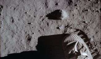 The Smithsonian National Air and Space Museum is holding the Apollo 50 Festival in honor of the lunar landing. (ASSOCIATED PRESS)
