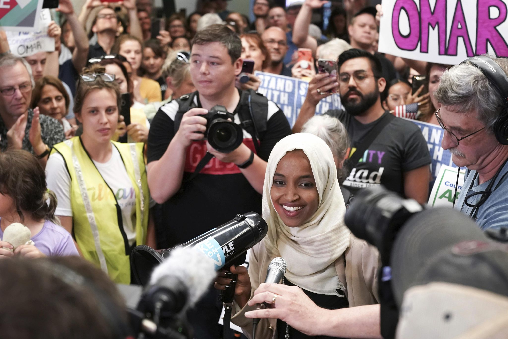 Rep. Ilhan Omar vows to be 'nightmare' for Trump