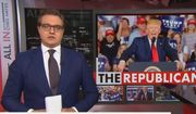 MSNBC's Chris Hayes discusses President Trump and his base of support, July 18, 2019. (Image: MSNBC screenshot)