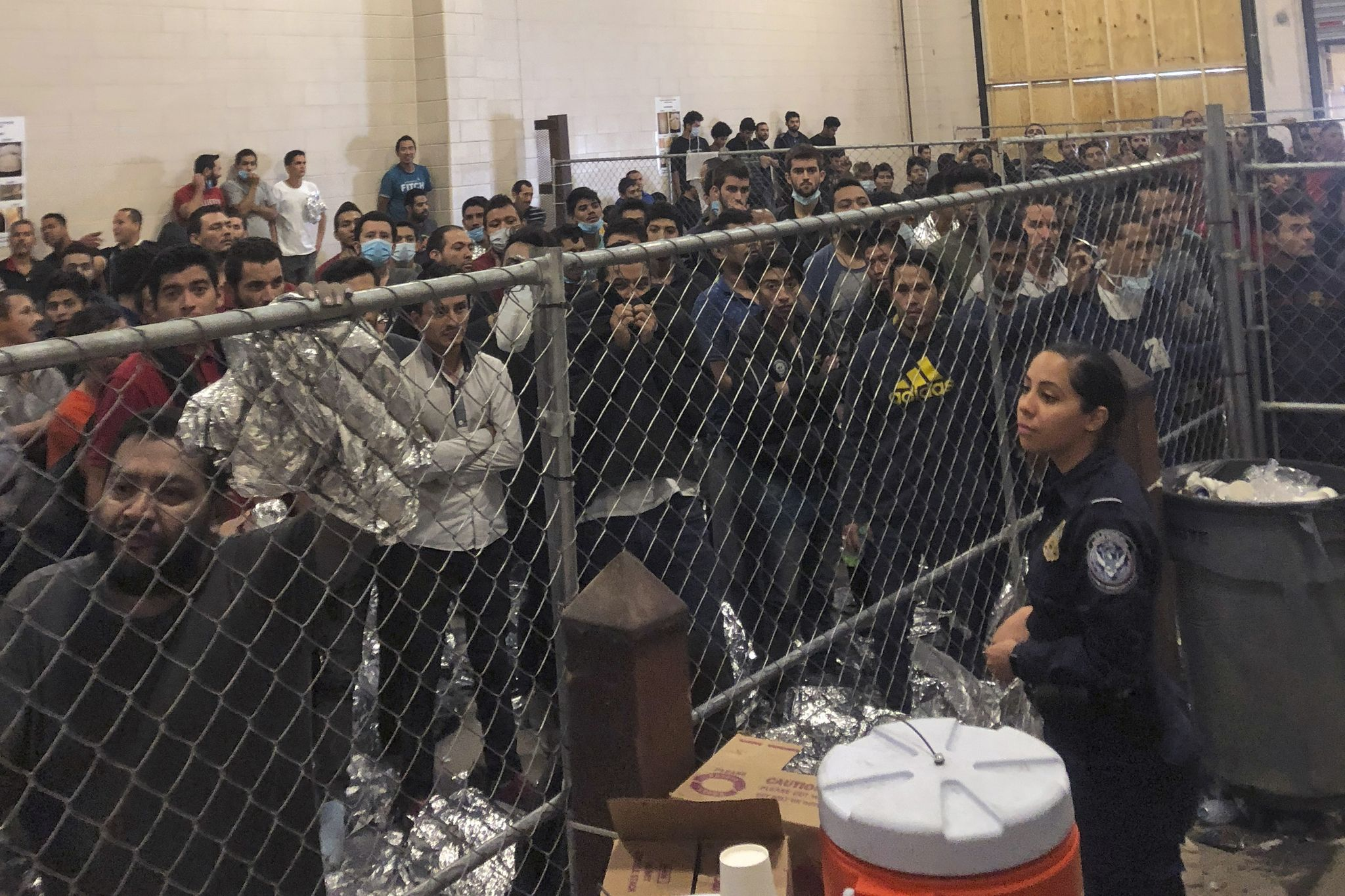 Why not control the crowd illegally entering America?