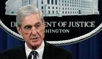 In this May 29, 2019, file photo, special counsel Robert Mueller speaks at the Department of Justice Wednesday, in Washington, about the Russia investigation. Democrats on the House Judiciary Committee plan to focus their questions in a highly-anticipated hearing with Mueller next week on a narrow set of episodes laid out in the special counsel's report, an effort to direct Americans' attention to what they see as the most egregious examples of President Donald Trump's conduct.  (AP Photo/Carolyn Kaster, File)