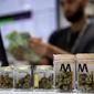 Nevada state officials will allow marijuana businesses to deal in electronic tokens and chips as dispensaries are increasingly targeted for burglaries and robberies. (ASSOCIATED PRESS)