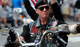 """We're not going anywhere. We're just going nationwide,"" U.S. Army Sgt. Artie Muller said. He's the founder and national executive director of Rolling Thunder Ride for Freedom."