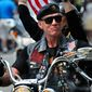 """""""We're not going anywhere. We're just going nationwide,"""" U.S. Army Sgt. Artie Muller said. He's the founder and national executive director of Rolling Thunder Ride for Freedom."""