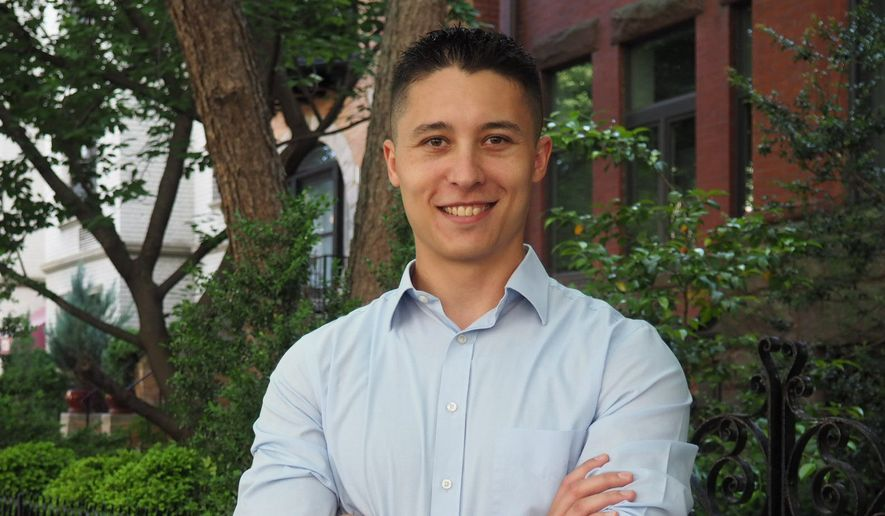 Daniel Hernandez is one of five candidates challenging embattled D.C. Council member Jack Evans for his Ward 2 seat. (Courtesy of Daniel Hernandez)