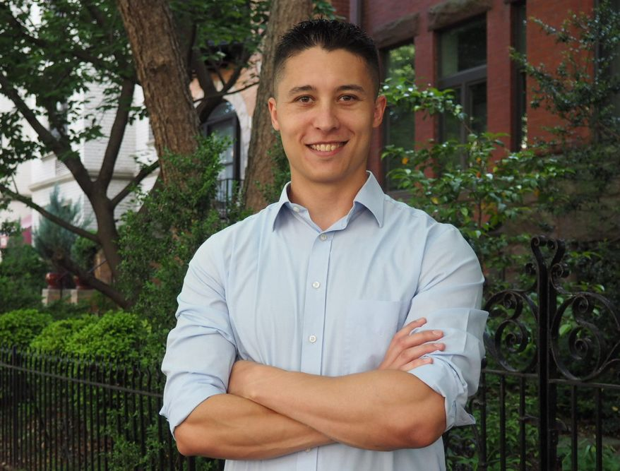 Daniel Hernandez is one of five candidates challenging embattled D.C. Council member Jack Evans for his Ward 2 seat. (Courtesy of Daniel Hernandez)