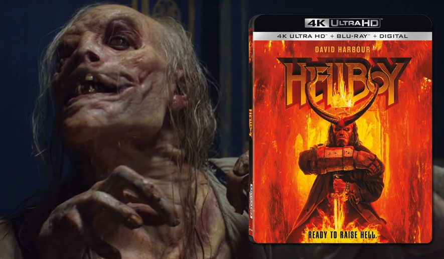 """The witch Baba Yaga appears in """"Hellboy,"""" now available on 4K Ultra HD from Lionsgate Home Entertainment."""