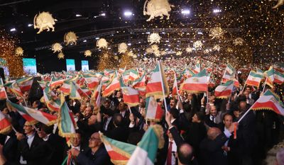 Thousands of people gathered at the newly constructed Ashraf 3 in Albania to call for freedom in Iran. (Photo courtesy: the National Council of Resistance of Iran)