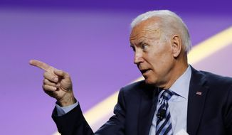 Democratic presidential hopeful Joseph R. Biden received only 15% of the donations made by 100 of Hollywood's most powerful.