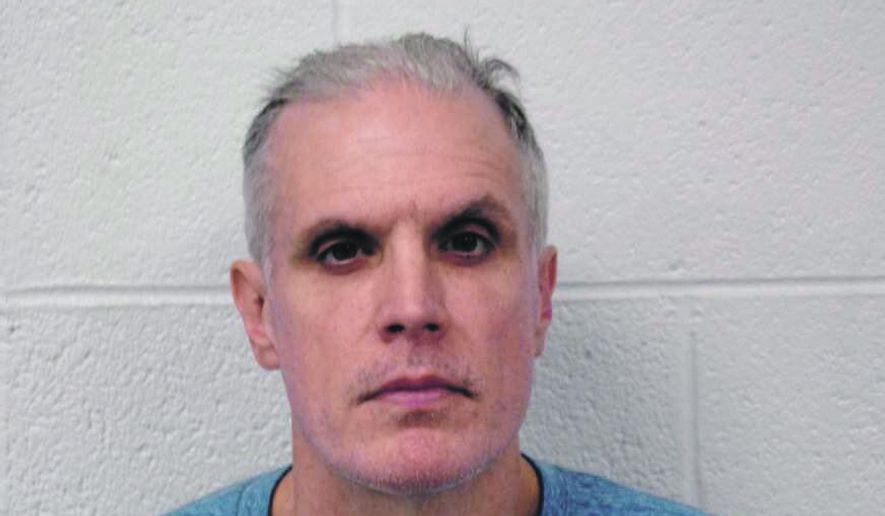 This undated photo provided by the Pennsylvania State Police shows Timothy D. Nelson Jr., 50, of Cumberland, Md. A plea hearing for Nelson is scheduled for Thursday, July 25, 2019, in the Johnstown federal courthouse. (Pennsylvania State Police via AP)