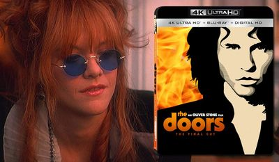 """Meg Ryan plays Jim Morrison's true love Pamela Courson in 'The Doors: The Final Cut,"""" now available on 4K Ultra HD from Lionsgate Home Entertainment."""