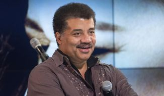 """In this Nov. 1, 2017, file photo, Neil deGrasse Tyson attends a fan event celebrating the release Kelly Clarkson's album """"Meaning of Life"""" at YouTube Space New York in New York. (Photo by Charles Sykes/Invision/AP, File)"""