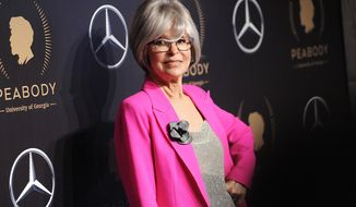 """FILE - This May 18, 2019 file photo shows actress Rita Moreno at the 78th annual Peabody Awards in New York. PBS announced Monday, July 29, it will air a documentary about Moreno, """"Rita Moreno: The Girl Who Decided to Go For It,"""" charting her decades-long career. The project is slated to air in 2020.  (Photo by Brad Barket/Invision/AP, File)"""