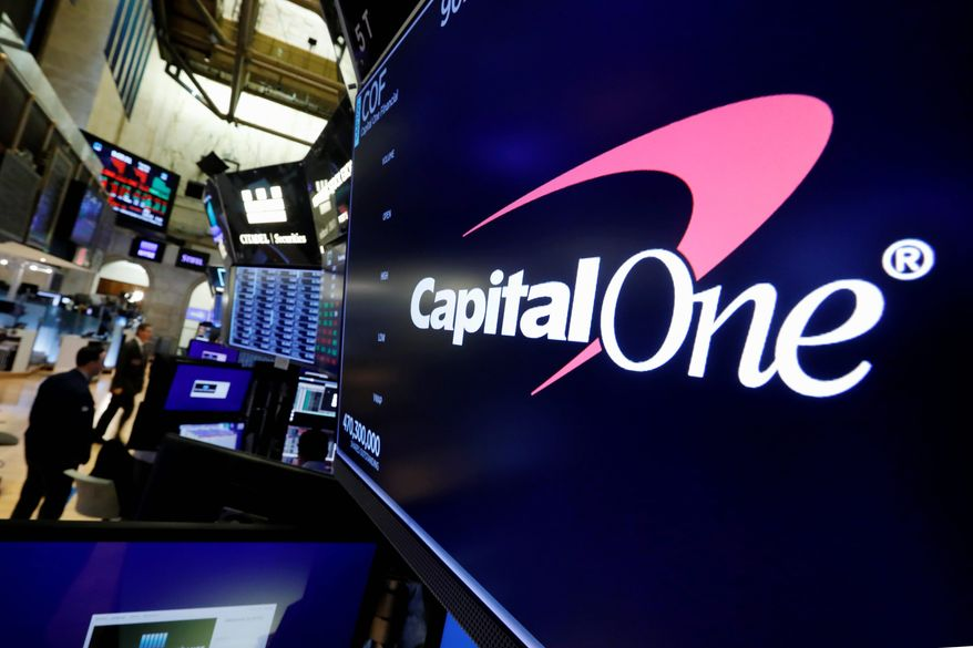 A security breach at Capital One Financial, one of the nation's largest issuers of credit cards, compromised the personal information of about 106 million people, and in some cases the hacker obtained Social Security and bank account numbers. (ASSOCIATED PRESS)