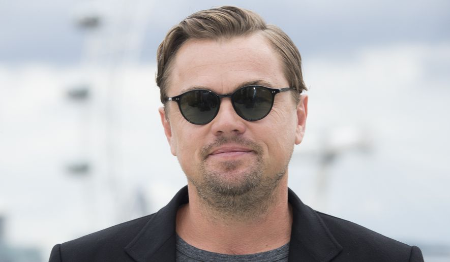 "Actor Leonardo DiCaprio poses for photographers upon arrival at the U.K. photo call of ""Once Upon A Time in Hollywood,"" in central London, Wednesday, July 31, 2019. (Photo by Joel C Ryan/Invision/AP)"