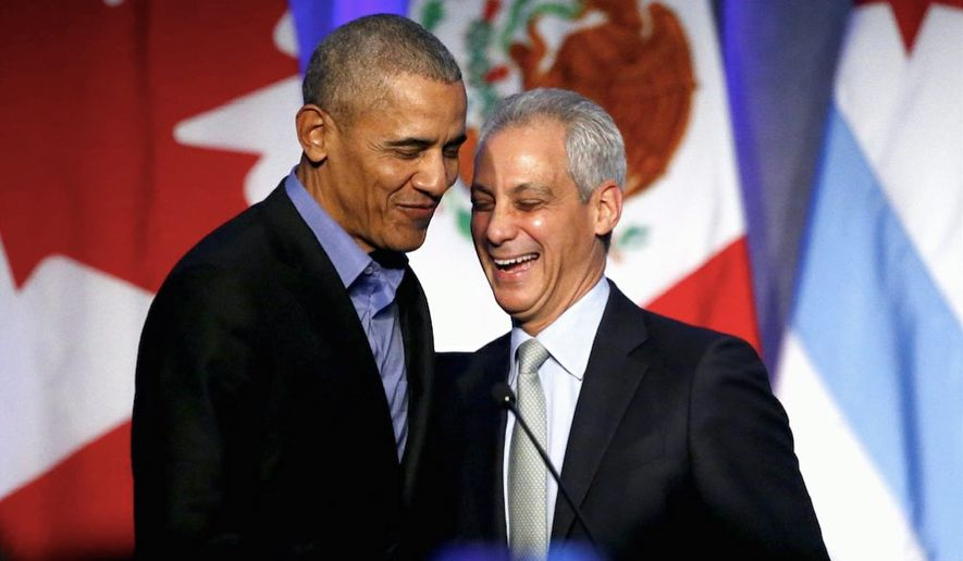 Rahm Emanuel, President Obama's chief of staff, couldn't believe what he was seeing during the second Democratic debate earlier this week. (Associated Press)