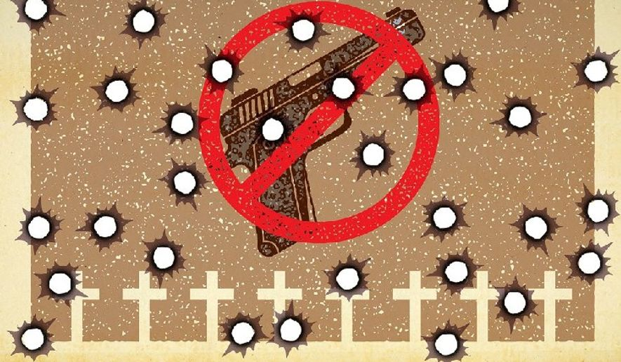 The Danger of Gun Free Zones Illustration by Greg Groesch/The Washington Times