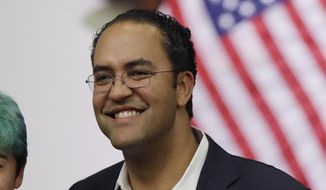 Rep. Will Hurd, R-Texas, announced on Aug. 1, 2019, he will not seek reelection in 2020. (AP Photo/Eric Gay)