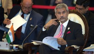 Indian External Affairs Minister Subrahmanyam Jaishankar was told by Beijing that a move to strip Indian-administered Kashmir of special autonomy was unacceptable. (Associated Press/File)