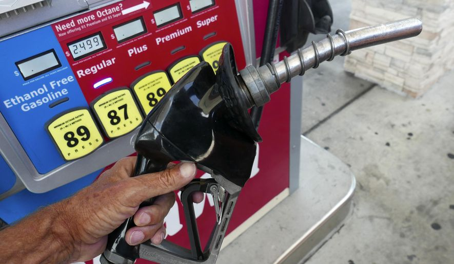 If consumers value saving money on gasoline over other vehicle characteristics, then they will purchase more fuel-efficient cars. Automakers, in turn, will meet that demand without a federal mandate. (Associated Press/File)