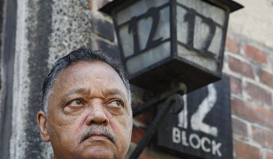 Jesse Jackson pays homage to Roma at Auschwitz ceremony - Washington