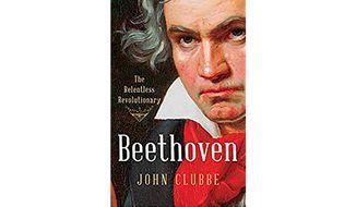 """Beethoven: The Relentless Revolutionary' (Book jacket)"