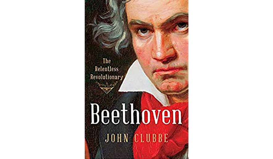 """Beethoven: The Relentless Revolutionary' (Book jacket)"