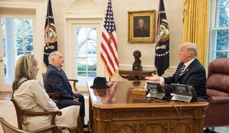 Talk radio host Michael Savage (middle) hopes President Trump will act to remove his name from a list of undesirables banned in Britain. (Michael Savage)