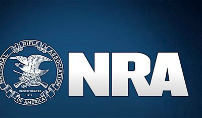 The National Rifle Association has vowed not to politicize two mass shootings. (NRA logo)