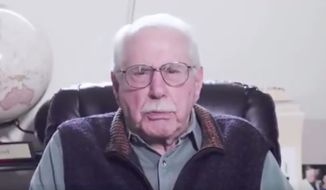 Former Sen. Mike Gravel. (Image: Screenshot from Twitter video/https://twitter.com/MikeGravel/status/1158739504829779969?s=20)