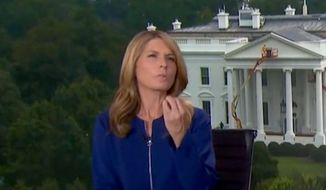 MSNBC's Nicolle Wallace discusses the Trump administration, Aug. 6, 2019. (Image: MSNBC screenshot)