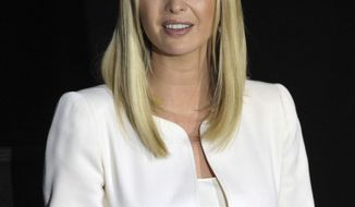 Ivanka Trump speaks during a roundtable discussion at Operation New Hope, Friday, July 26, 2019, in Jacksonville, Fla. Vice President Mike Pence and Trump were joined by Florida Gov. Ron DeSantis on their trip to Jacksonville, where they met with staff and former graduates of Operation New Hope's Ready 4 Work program, which helps get individuals with a history in the criminal justice system training to enter the work force. (Bob Self/The Florida Times-Union via AP)