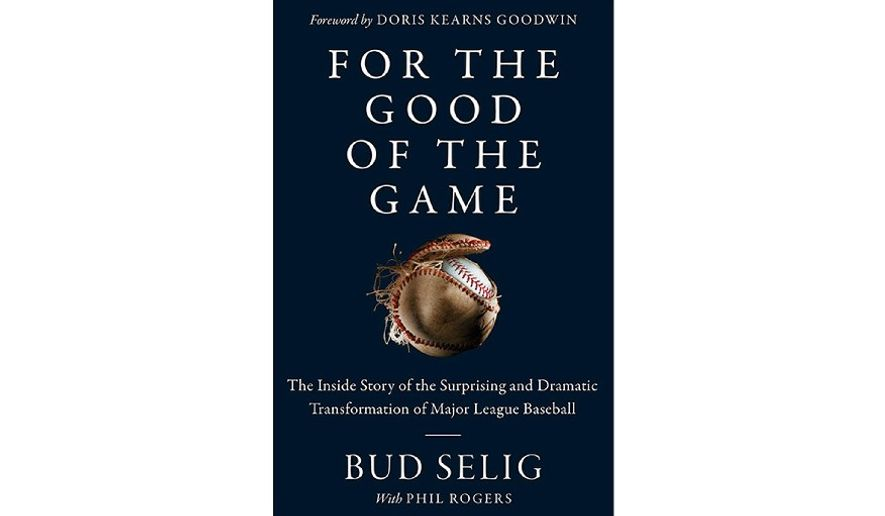 'For the Good of the Game' (book jacket)