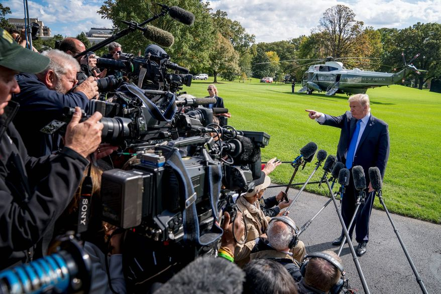 Pollster Frank Luntz warns journalists that their credibility with the public is dropping due to hostile reporting against President Trump. (Associated Press)