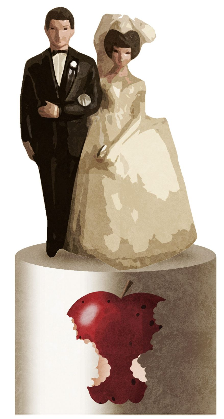 Illustration on sexual abstinence before marriage by Alexander Hunter/The Washington Times