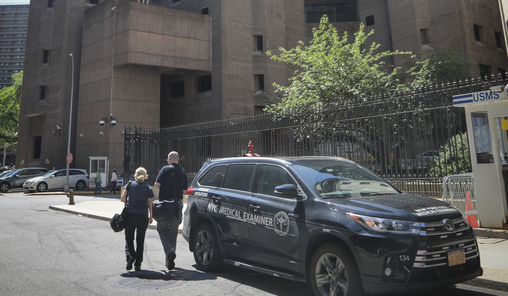 Jeffrey Epstein guard on night of suicide not a corrections officer