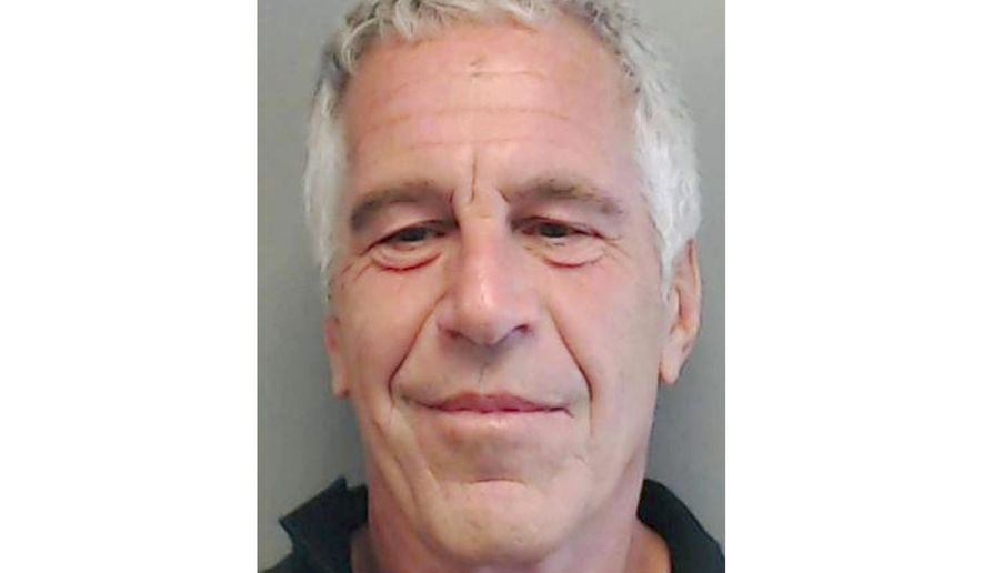 This July 25, 2013, file image provided by the Florida Department of Law Enforcement shows financier Jeffrey Epstein. Officials say the FBI and U.S. Inspector General's office will investigate how Epstein died in an apparent suicide, while the probe into sexual abuse allegations against the well-connected financier remains ongoing. A person familiar with the matter says Epstein, accused of orchestrating a sex-trafficking ring and sexually abusing dozens of underage girls, had been taken off suicide watch before he killed himself Saturday, Aug. 10, 2019, in a New York jail. (Florida Department of Law Enforcement via AP, File)