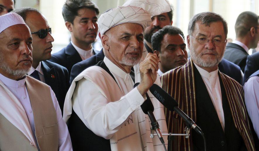 Ashraf Ghani, Afghanistan president, vows foreign nations