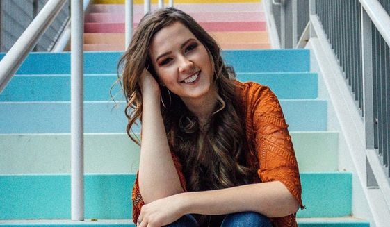 Katelyn Davis, a student from Houston and a 2019 summer intern with The Washington Times, passed away in her sleep sometime early Saturday, Aug. 10, 2019. (Photo courtesy of Davis family)