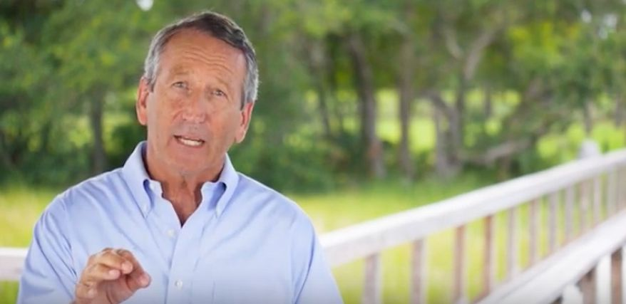 Mark Sanford, a former congressman and governor of South Carolina, released a video on Monday, Aug. 12, 2019, warning of the increasing debt. (Screen grab from YouTube) ** FILE **
