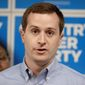 Democrat Dan McCready (left) will face off against Republican state Sen. Dan Bishop in a special election Sept. 10. North Carolina's 9th District has been red since 1963. (Associated Press photographs)