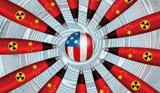 The Chinese Missile Threat Illustration by Greg Groesch/The Washington Times