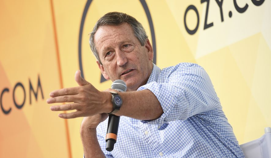 In this July 21, 2018, file photo, Republican politician Mark Sanford speaks at OZY Fest in Central Park in New York. (Photo by Evan Agostini/Invision/AP) ** FILE **