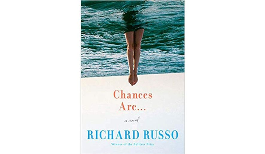 'Chances Are: A Novel' (book jacket)