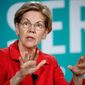"Elizabeth Warren, who has made ""I have a plan for that"" the catchphrase for the campaign, rolls out spending proposals on an almost weekly basis. (Associated Press/File)"