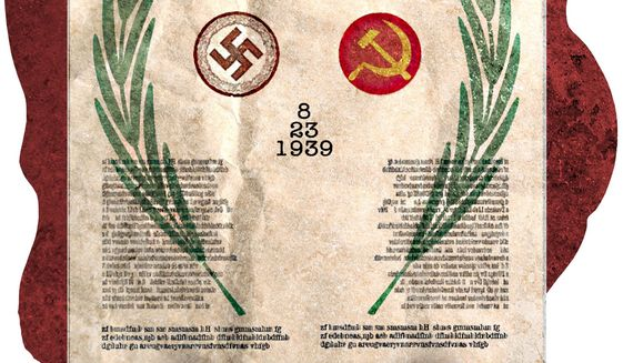Non-aggression pact : A bad deal, 80 years ago illustration