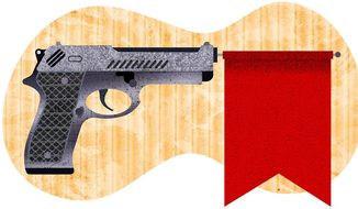 Unconstitutional Red Flag Laws Illustration by Greg Groesch/The Washington Times