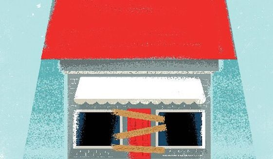 Illustration on the impact of tariffs on Chinese goods by Linas Garsys/The Washington Times