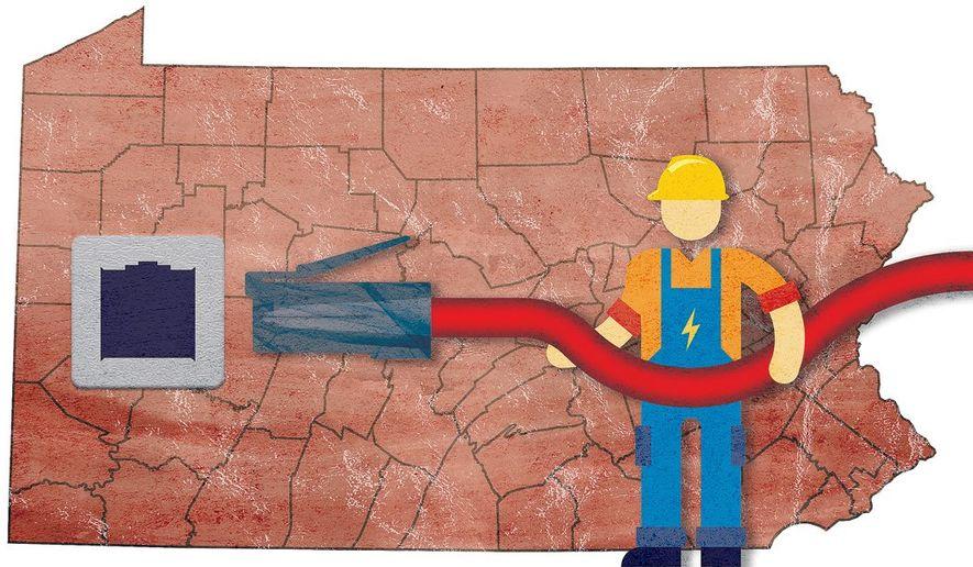 Pennsylvania Connection Illustration by Greg Groesch/The Washington Times