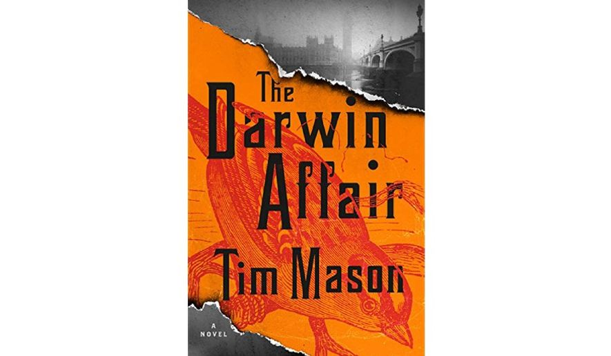 'The Darwin Affair' (book jacket)